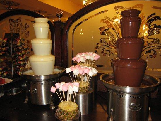 Hotel Riu Palace Riviera Maya: chocolate Fondu