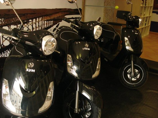 Puzzle Solutions: Rent-a-scooter