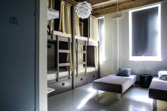 Hostel Club Chao, Mama: Твигги, номер со своей душевой и санузлом
