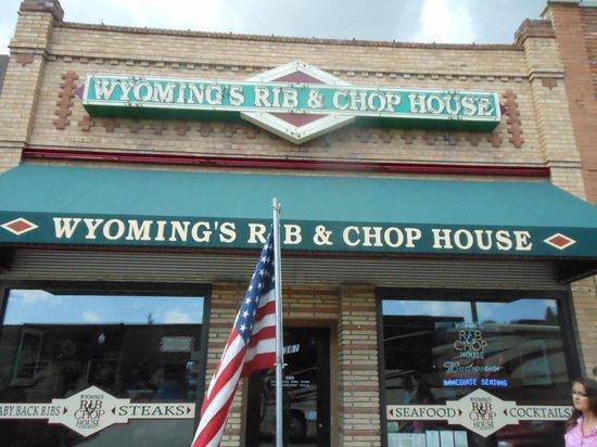 Wyoming's Rib and Chop House: Facade
