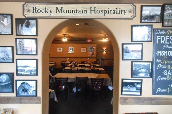 Wyoming's Rib and Chop House: Interior