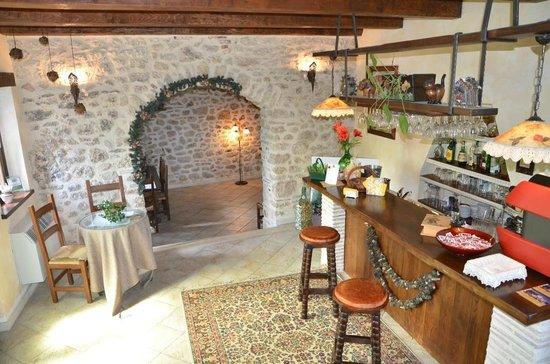 Agriturismo Antico Borgo di Vallignano: L'area bar e relax