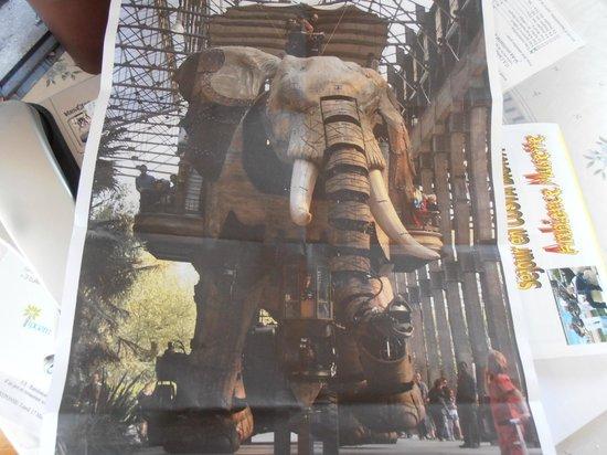 Les Machines de L'ile : l'éléphant