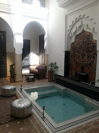 Riad Star : courtyard