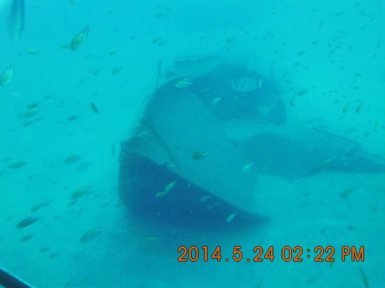 Submarine Adventure: wrak