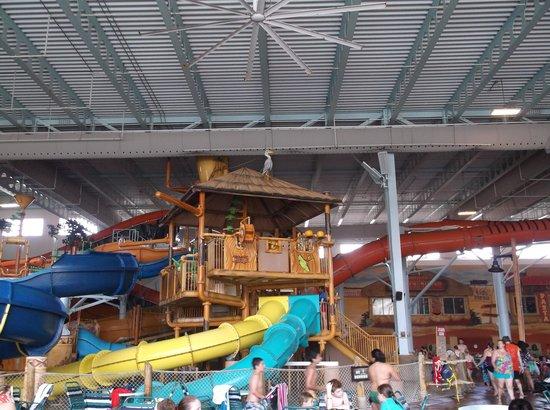 Kalahari Resorts & Conventions : indoor park