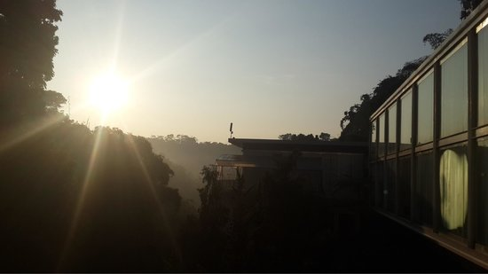 Padma Hotel Bandung: Morning view from premier room at 7th floor