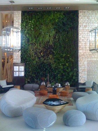 Sofitel Essaouira Mogador Golf & Spa: magnifique mur végétal