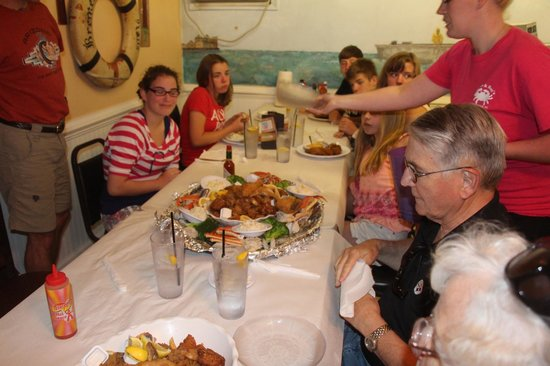 Margie & Ray's Crabhouse: The food