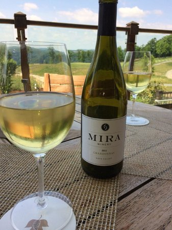 Primland: Relaxing with Evening Wine