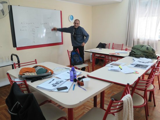 Intercultural Language School: Classroom