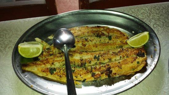 Vittorio Trattoria: peixe grelhado muito saboroso