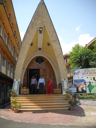 Don Bosco Centre for Indigenous Cultures : at the entrance