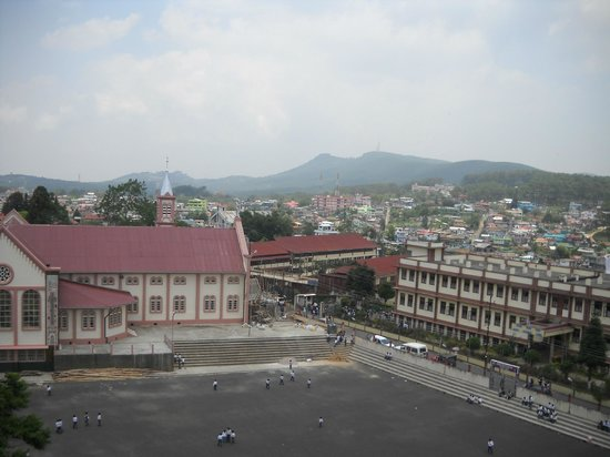 Don Bosco Centre for Indigenous Cultures : view from skywalk