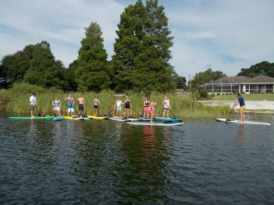 Paddleboard Winter Haven: Bring your Church Group