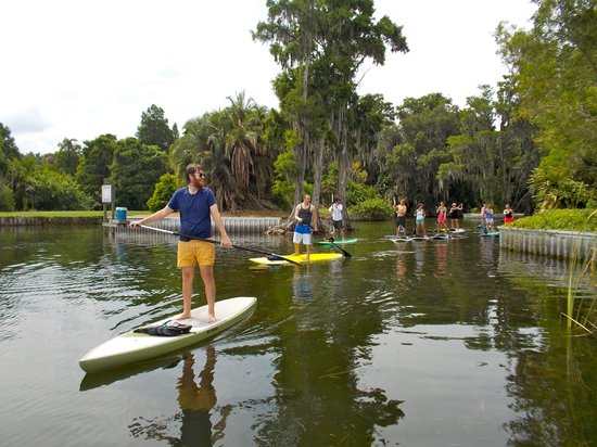 Paddleboard Winter Haven: Explore our Unique Chain of Lakes