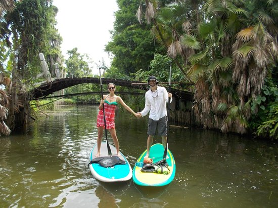 Paddleboard Winter Haven: A Couple who Plays Together Stays Together!