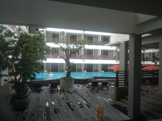 Sun Island Hotel Kuta: Pool view