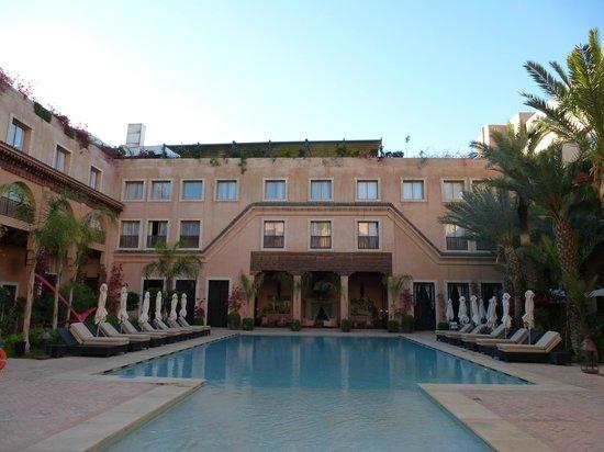 Les Jardins de La Koutoubia : piscine