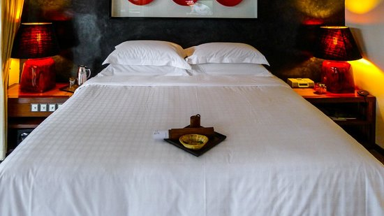 Villa Samadhi : Our Luxe Crib bed, very comfortable and luxurious