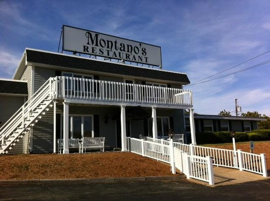Montano's Restaurant: From the front