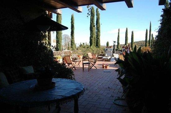 La Pepa Maca: Terraza segunda planta