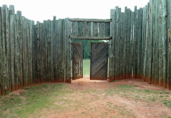 Andersonville National Historic Site and National Prisoner of War Museum: Gate Entry to Hell