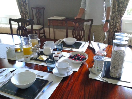Tour House Bed and Breakfast : Breakfast :)