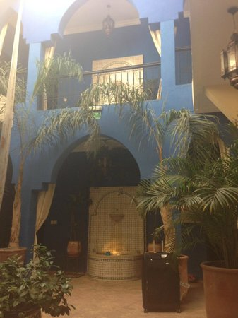 Riad La Rose Du Desert: view from reception