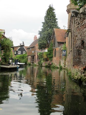 Canterbury Historic River Tours: View while on the boat tour