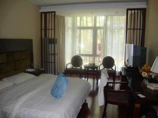 Jiayu County, Cina: large suite room