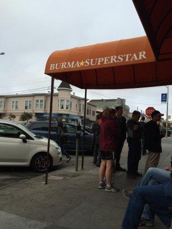 Burma Superstar Restaurant : Entry