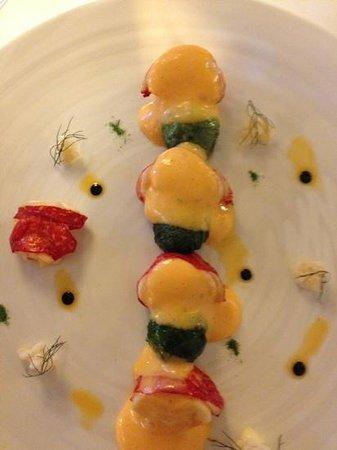 Maison Lameloise: lobster