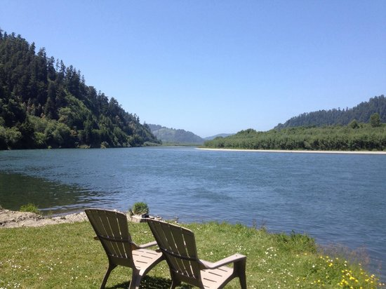 Klamath River RV Park: After the morning mist burned off.