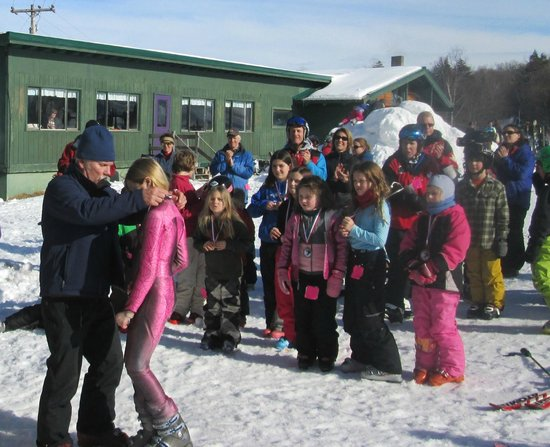 Big Squaw Mountain: Ski Racing Events througout the season with the Red Eagle Race Foundation
