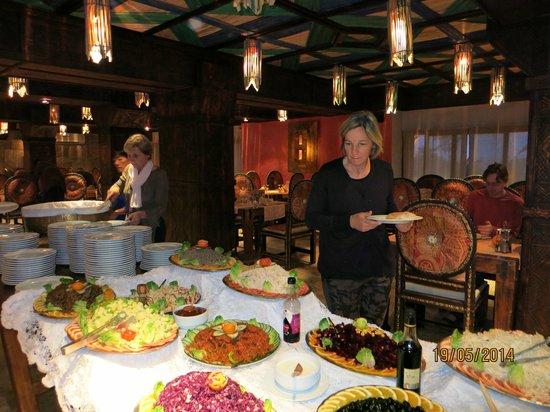Hotel Xaluca Dades: buffet