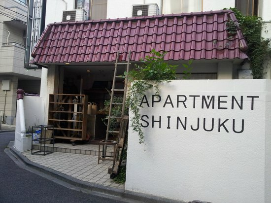 Apartment Hotel Shinjuku : building