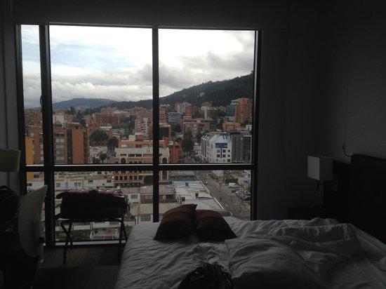 Tryp by Wyndham Bogota Usaquen : Vista do quarto