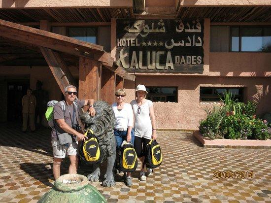 Hotel Xaluca Dades: ingresso