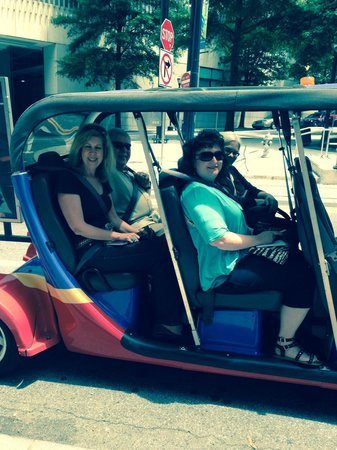 ATL-Cruzers Electric Car & Segway Tours: Getting ready for ATL Cruzers Tour
