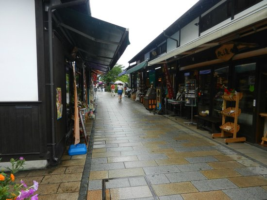 Nawate Shopping District: due to bad weather: almost no people :)