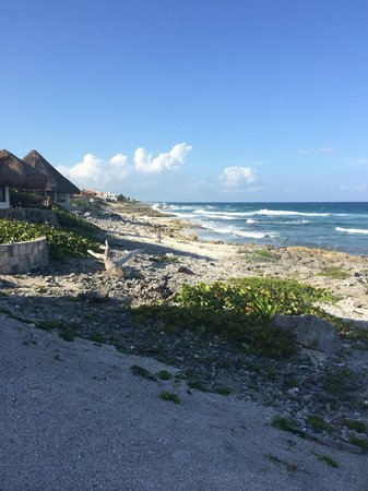 Las Casitas Akumal: View from the cannon landing