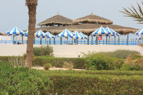 Al Jazira Beach & Spa : Vue de la deuxième piscine plus au calme
