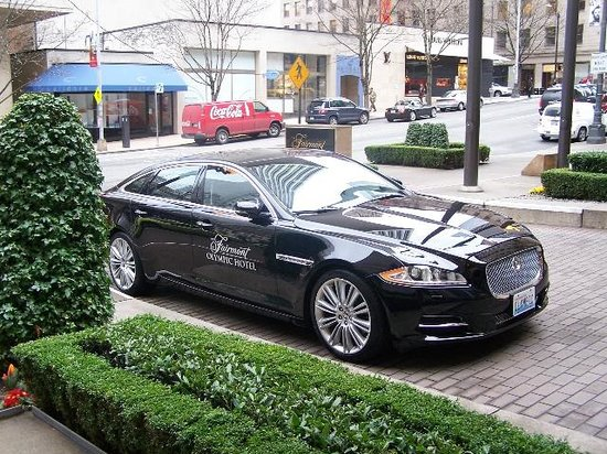 The Fairmont Olympic Seattle: Jaguar!