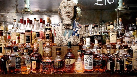 The Blues Kitchen Camden: Over 80 different bourbons to choose from