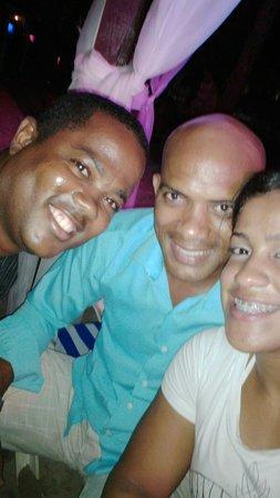 BelleVue Dominican Bay : Con Richi y Max