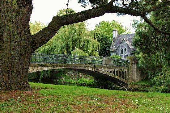 University College Cork (UCC) : Bridge Near Main Gate (Taken in 2012 - Railing Has Since Been Added)