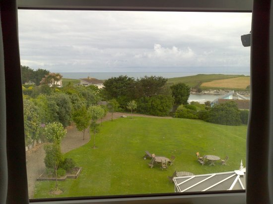 BEST WESTERN Porth Veor Manor Hotel: View from room 23
