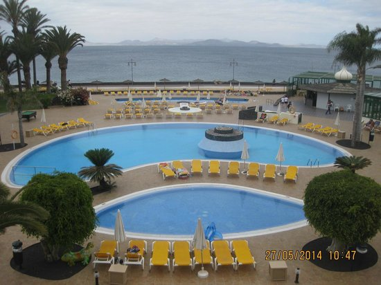 IBEROSTAR Lanzarote Park: view from room 1215
