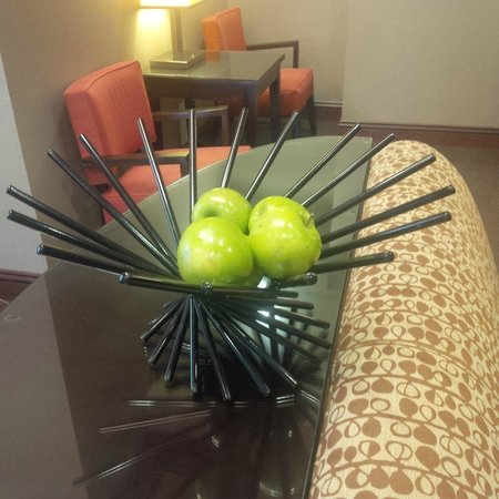 Hyatt Place Madison: We all love apples!